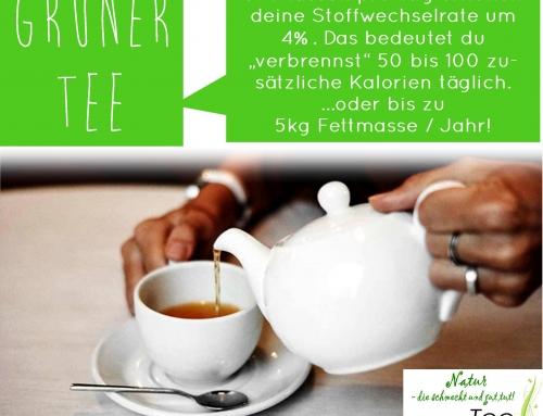 Grüner Tee ist nicht nur gesund…