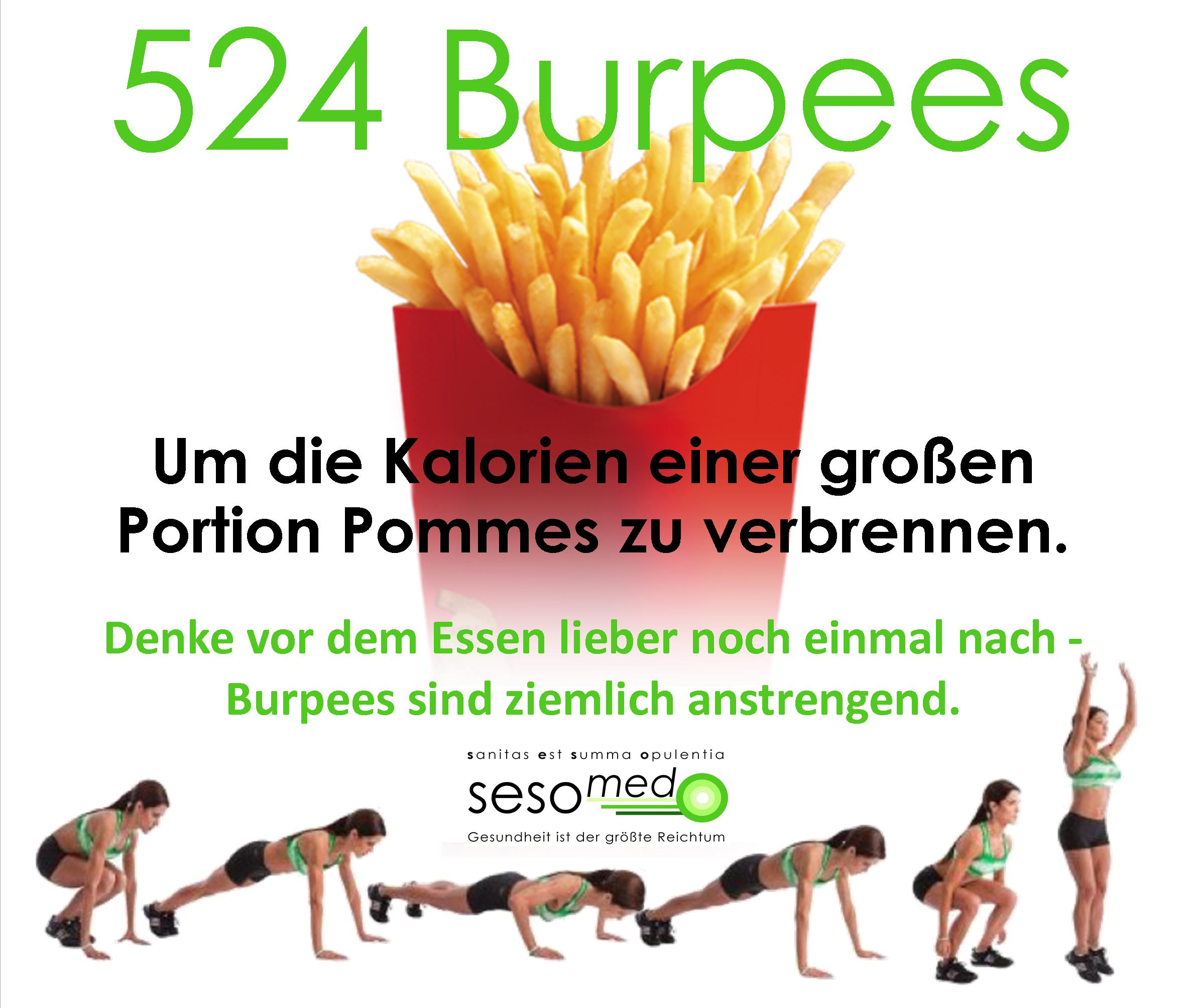 Burpees vs. Pommes