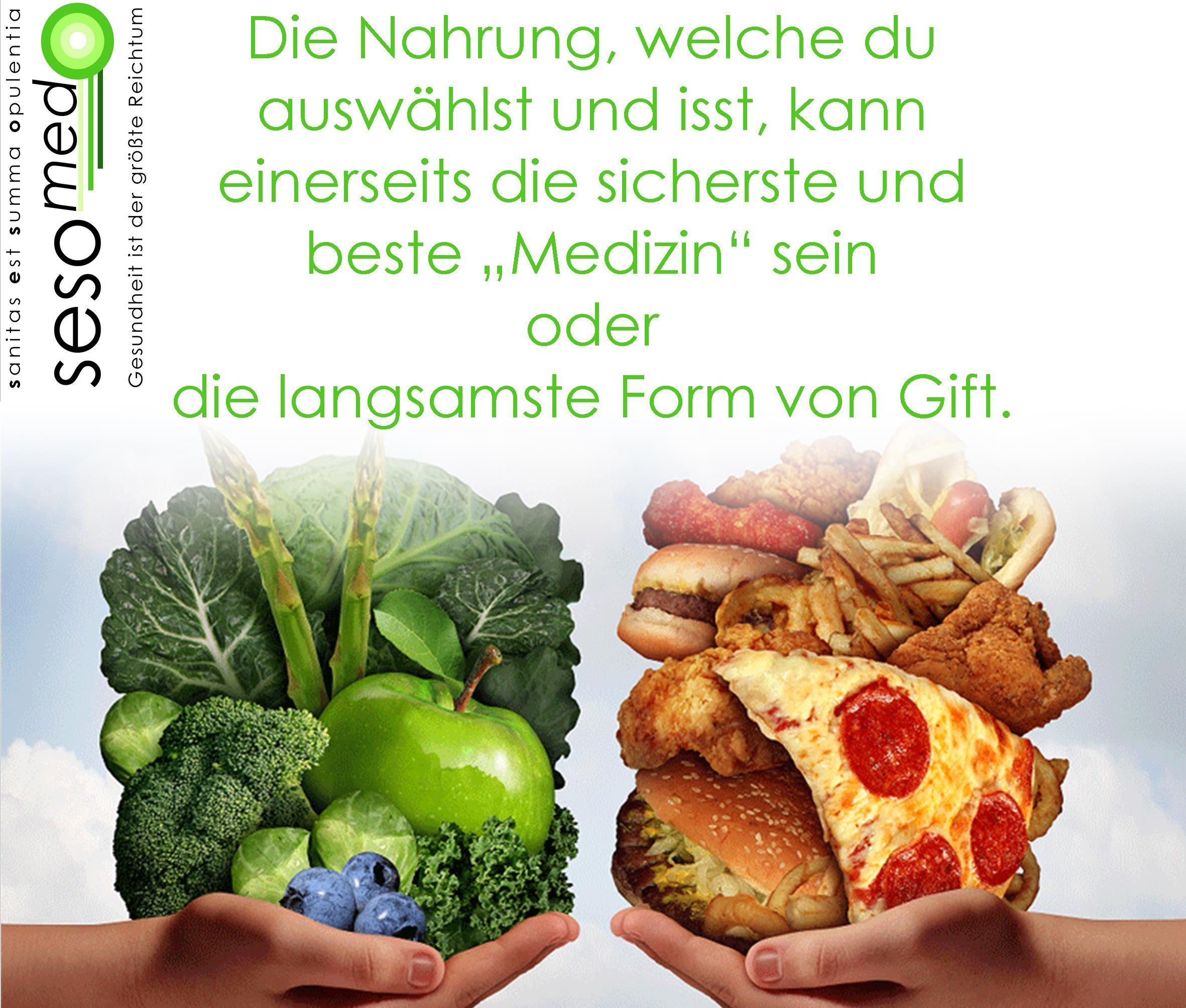 gesunde Ernährung ist besser als jede Medizin